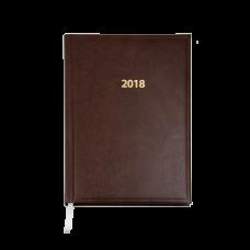Щоденник датований 2018 BASE(Miradur), A5, 336стр. чорний