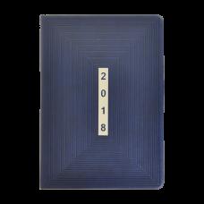 Щоденник датований 2018 MEANDER, А5, 336стр