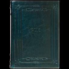 Щоденник датований 2018 SAGA (золочення зрізу), A5, 336стр.