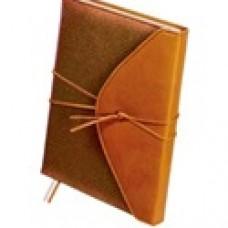 Ежедневник А5 недатированный Bella 288 стр.,коричневый