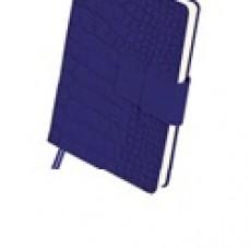 Ежедневник А5 недатированный Croco A5,320 стр,синий